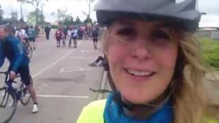 Great Manchester Cycle 2015 - the route in under FIVE minutes