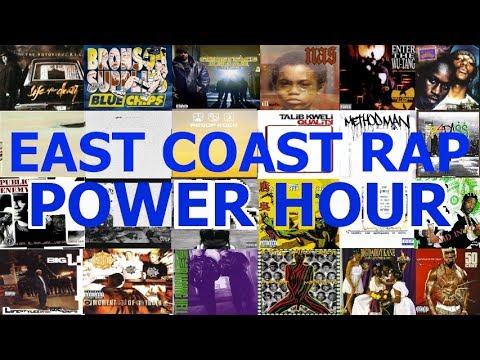 East Coast Rap/Hip-Hop Power Hour Drinking Game