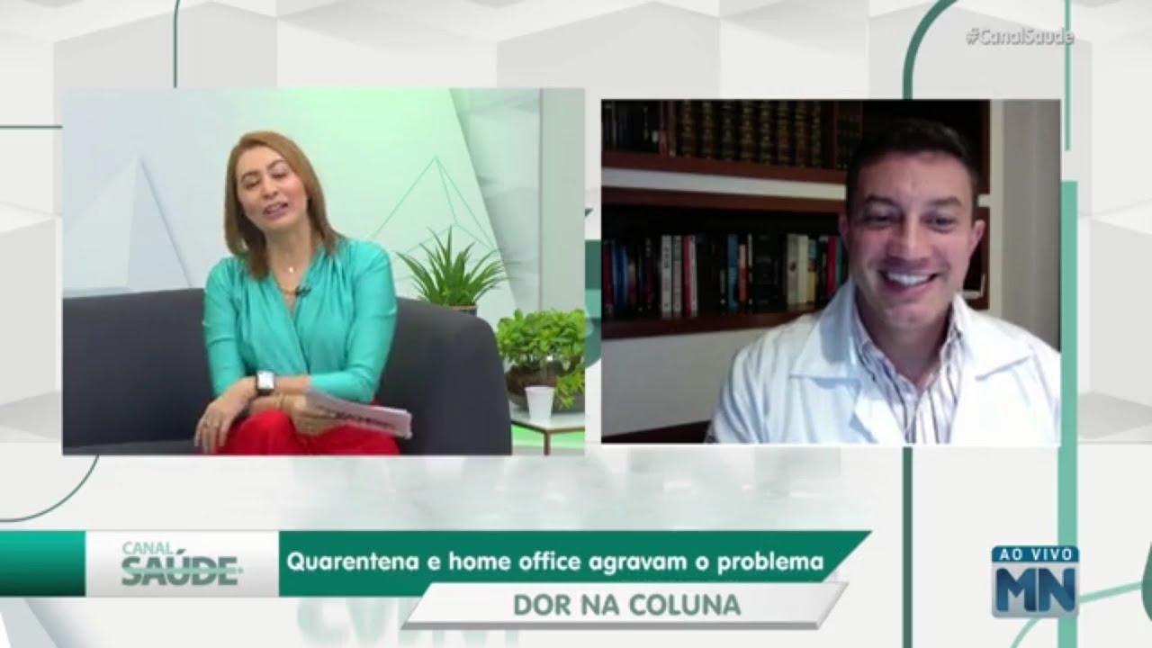 Pesquisa aponta aumento de dor nas costas durante pandemia │ Dr. Antônio Krieger