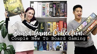 Our Board Game Collection 2019 || COUPLE NEW TO BOARD GAMING!