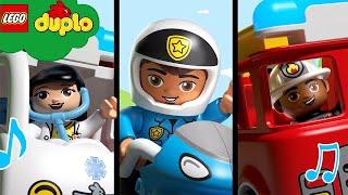 LEGO  SUPERHEROES | Learning Nursery Rhymes | DUPLO Cartoons and Kids Songs | Best Baby Songs
