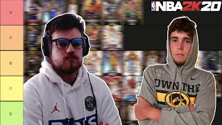RANKING THE BEST PLAYERS IN NBA 2K20 MYTEAM! TIER LIST WITH DBG! (PART 1)
