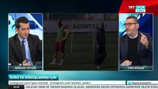 22.12.2017 - SPOR MANŞET / BEŞİKTAŞ - FENERBAHÇE - GALATASARAY - TRABZONSPOR - Cem Dizdar