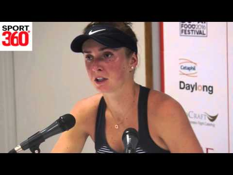 Elina Svitolina on Jana Cepelova victory and looking ahead to Garbine Muguruza clash