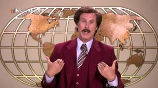Ron Burgundy Says His Bit | Stand Up To Cancer