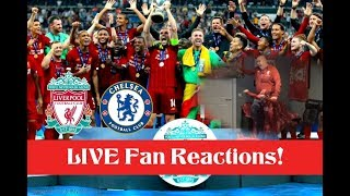 Liverpool vs Chelsea, UEFA Super Cup Final 2019, LIVE Fan Reactions!