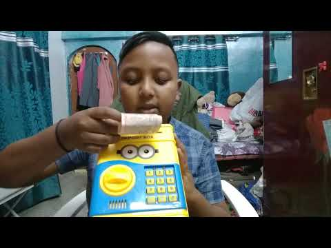 Minion money bank electronic mony bank !!!