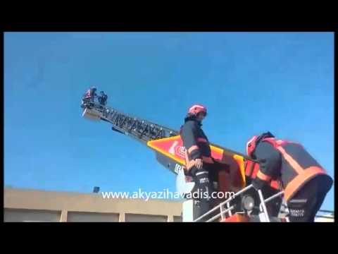 Akyazı MYO'da Yangın Tatbikatı