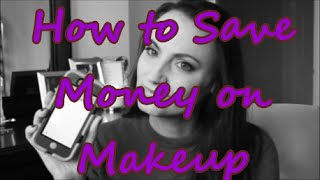 How to Save Money on Makeup Thumbnail