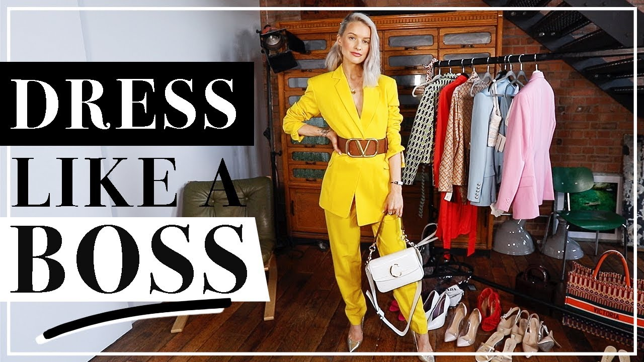 [VIDEO] - WORKWEAR, Suits AND POWER DRESSING OUTFITS | Inthefrow 1