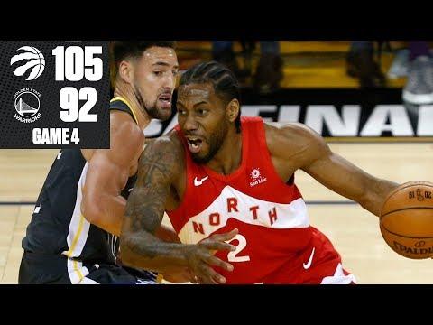 Kawhi Leonard leads Raptors to commanding 3-1 lead vs. Warriors | 2019 NBA Finals Highlights