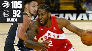 Kawhi Leonard leads Raptors to commanding 3-1 lead vs. Warriors | 2019 NBA Finals Highlights