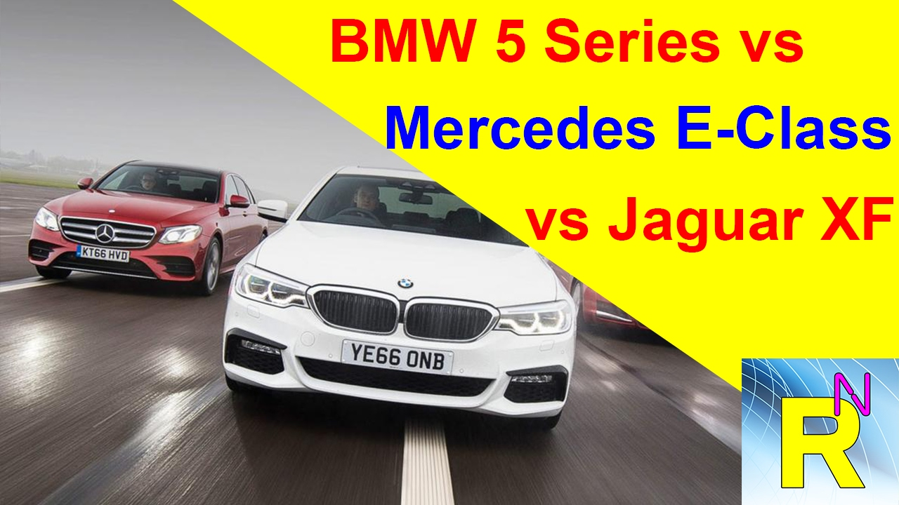 car review bmw 5 series vs mercedes e class vs jaguar xf. Black Bedroom Furniture Sets. Home Design Ideas