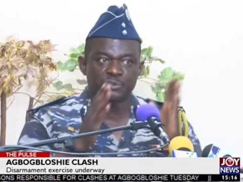 Disarmament Exercise Underway - The Pulse on Joy News (13-4-17)