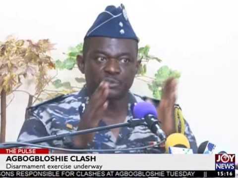 Disarmament Exercise Underway - The Pulse on Joy News (13-4-17)
