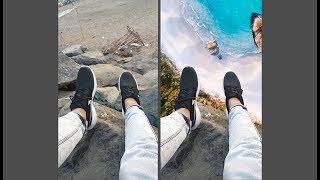 How To Make Flat Boring Photos INSANELY COOL Just Using Lightroom And Photoshop Mix!