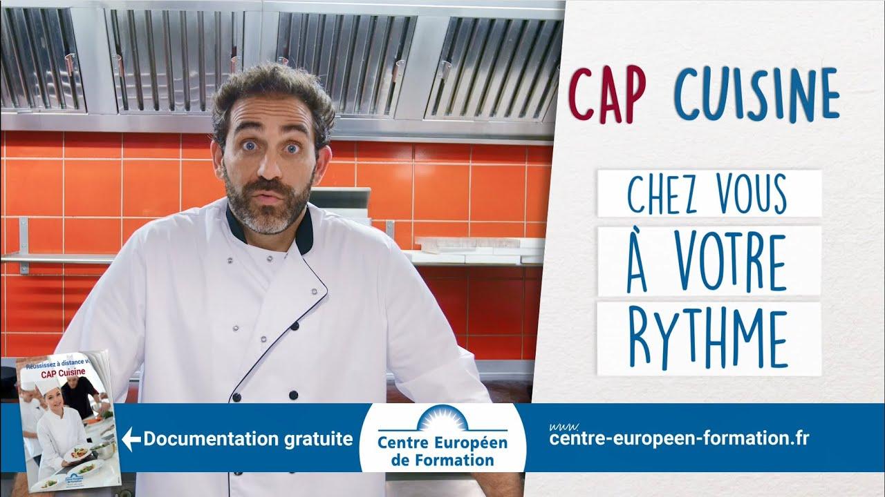 Spot TV CAP CUISINE élèves Témoignent De Leur Réussite YouTube - Cap cuisine par correspondance