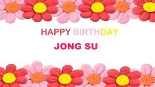 JongSu   Birthday Postcards & Postales77 - Happy Birthday