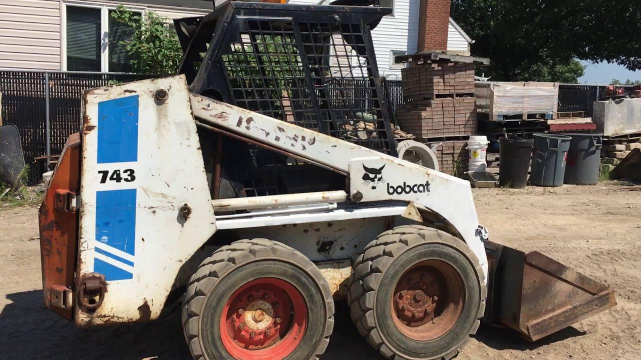 Bobcat 743 Youtube