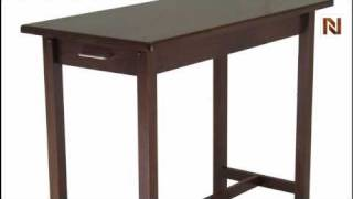 Winsome Kitchen Island Table With 2 Drawers 94540
