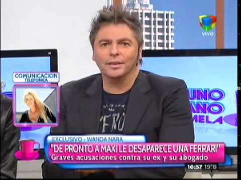 Wanda Nara habló sobre el escándalo con Maxi López por la usurpación de una vivienda