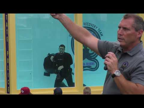 New York State Police Exhibit Underwater Recovery Team Demonstration (URT) 2017 1