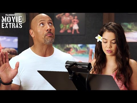 Go Behind the Scenes of Moana 2016
