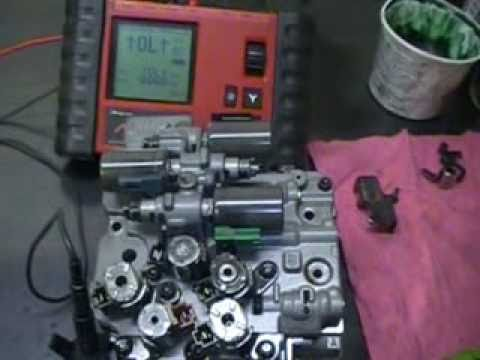 AW5551SN  RE5F22A Transmission Solenoid Repair PART 1  YouTube