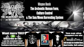 Wayne Bush | The Archontic Human Farm, Culture Control & The Sun/Moon Harvesting System