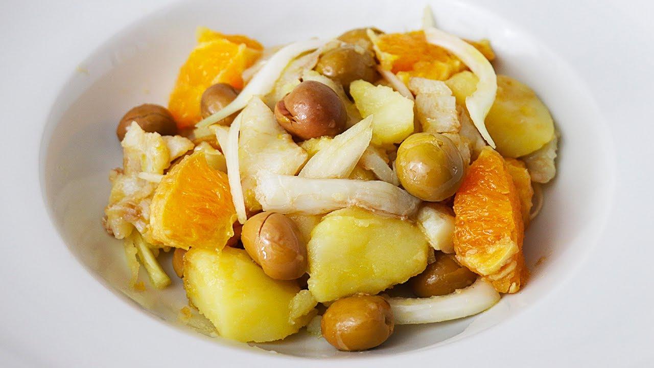 Ensalada de patatas malagueña
