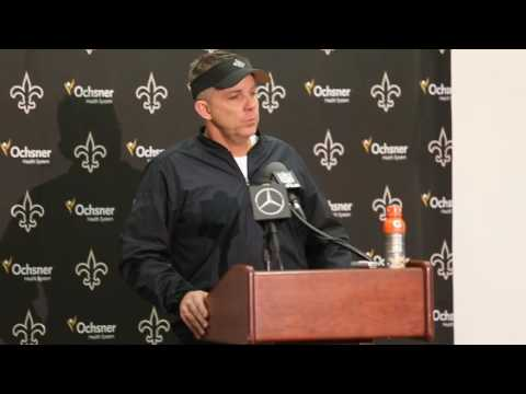 Hear what New Orleans Saints head coach Sean Payton said after the loss to Detroit
