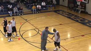 Teach Players to Cut Hard in a Motion Offense! - Basketball 2016 #1
