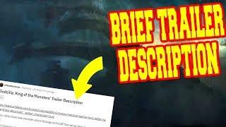 Godzilla King of the Monsters Clips & TRAILER 2 DESCRIPTION! (Minor Spoilers)