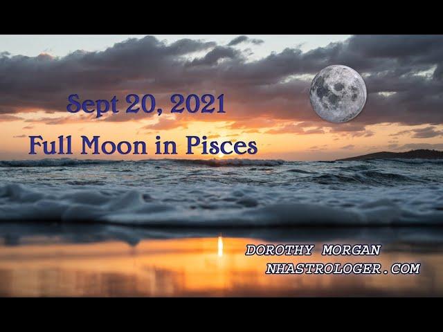 Full Moon in Pisces September 20