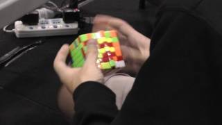 7x7 rubik s cube world record 2 18 13