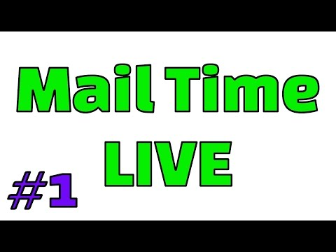 Mail Time and & Q&A with the Family