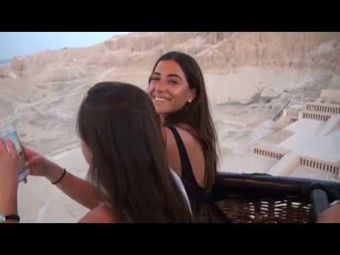 Hot Air balloon ride, Luxor Egypt