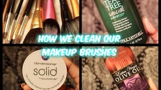 How We Clean Our Makeup Brushes Thumbnail