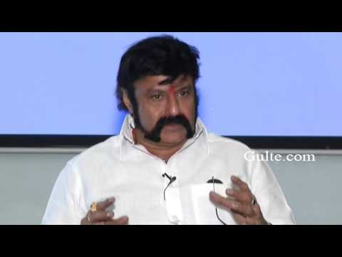 Chiranjeevi Is The Only Friend of Mine Balakrishna Interview - Gulte.com