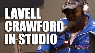 Lavell Crawford In Studio