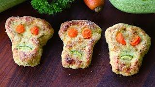 Chicken And Zucchini Skull Patties Recipe