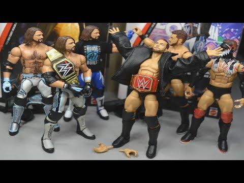 WWE ELITE TOP TALENTS FINN BALOR & AJ STYLES FIGURE REVIEW!