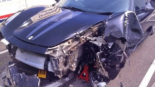 How I Crashed My Ferrari 430 Scuderia