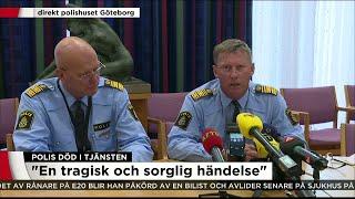 Polisens presskonferens - Nyheterna (TV4)