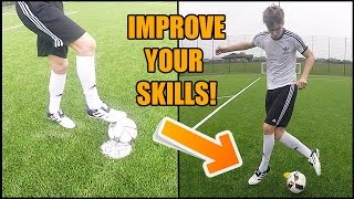 How to improve skills in football by 80%!