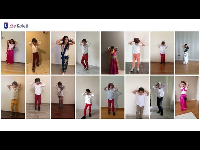 23 Nisan Kutlamaları. -ÜLKELER ve DANSLARI - 1B Sınıfı Hindistan Dansı-