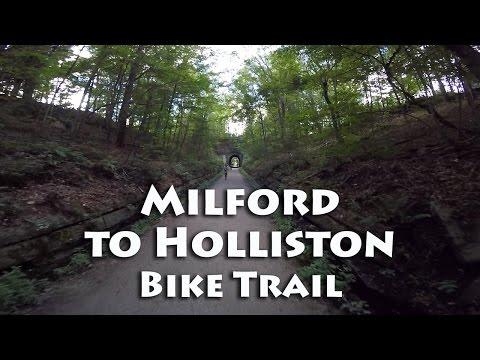 Milford to Holliston Bike Trail