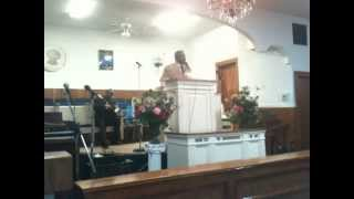08/24/12 Rev. Craig Davis Preached at the Anniversary