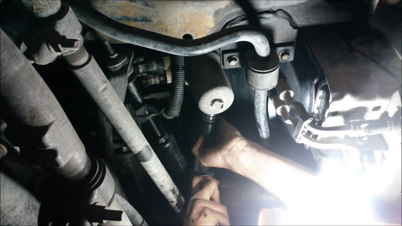 medium resolution of ford superduty transmission removing a stripped broken external filter housing 5r110w 6 0l 6 4l