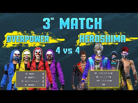 M8n Vs Vincenzo | World Most Intense Match Ever Played In Free Fire History | Overpower Vs Heroshima